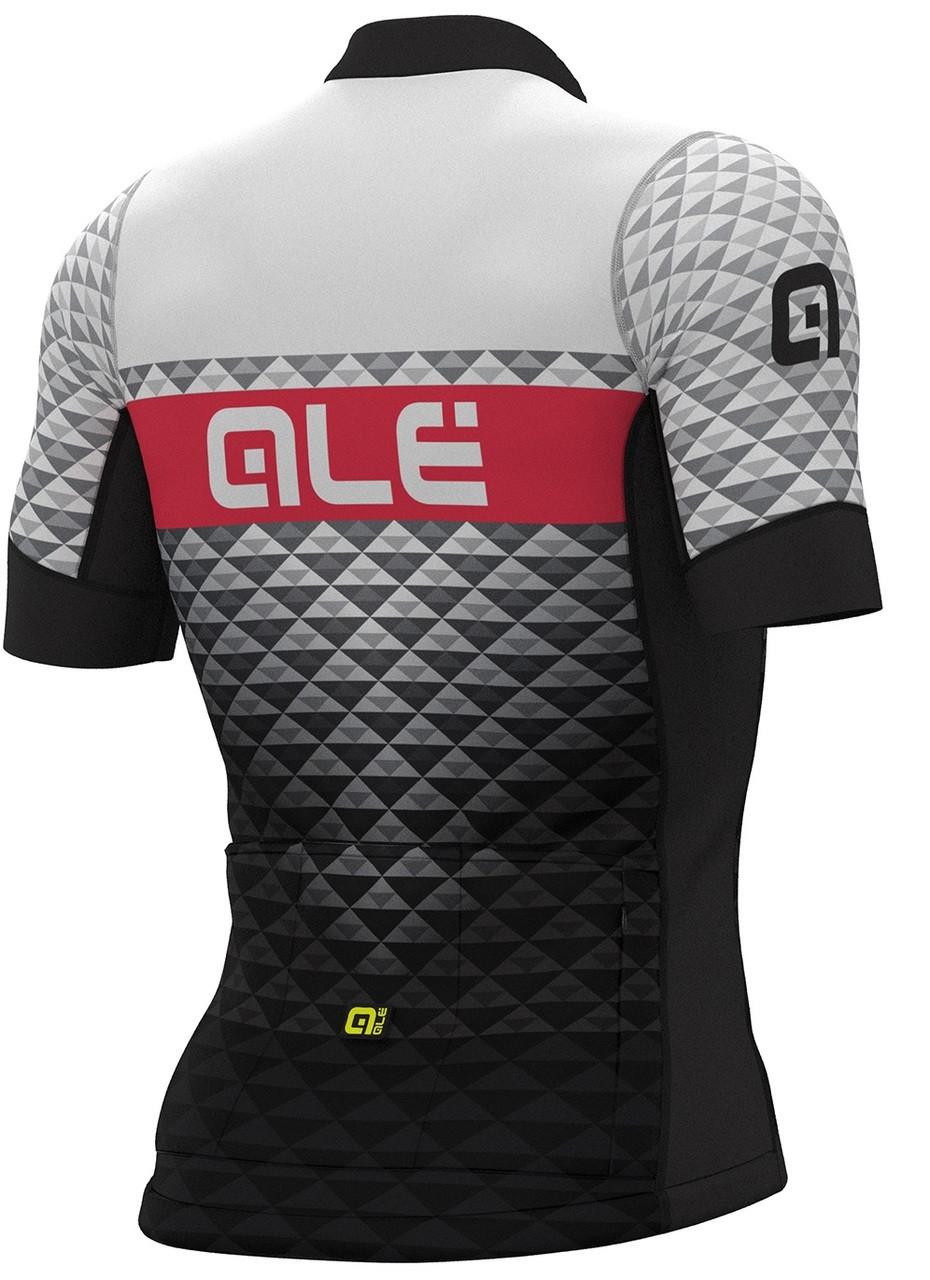 ALE'  Hexa PRS Black White Jersey Rear