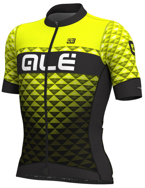 ALE' Hexa PRS Black Fluo Yellow Jersey