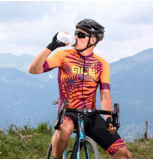ALE Sunset PRR Fluo Orange Jersey Rider