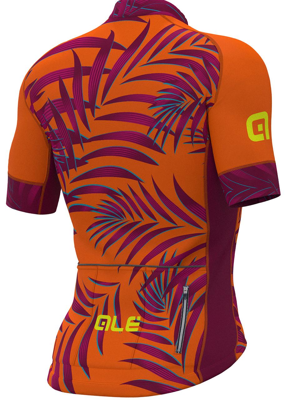 ALE Sunset PRR Fluo Orange Jersey Rear
