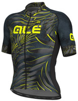ALE' Sunset PRR Black Fluo Yellow Jersey