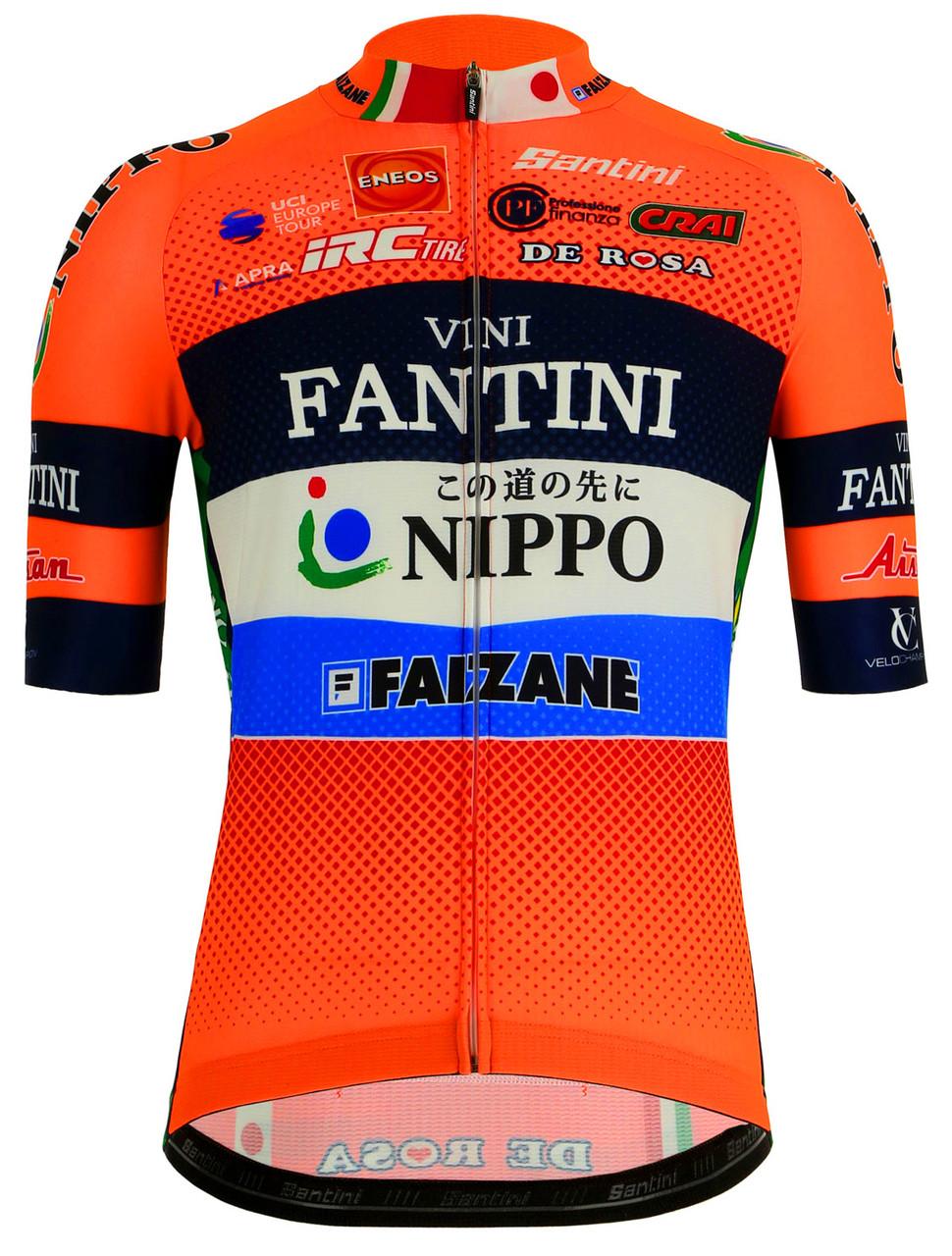 2019 Vini Fantini Nippo Jersey Front