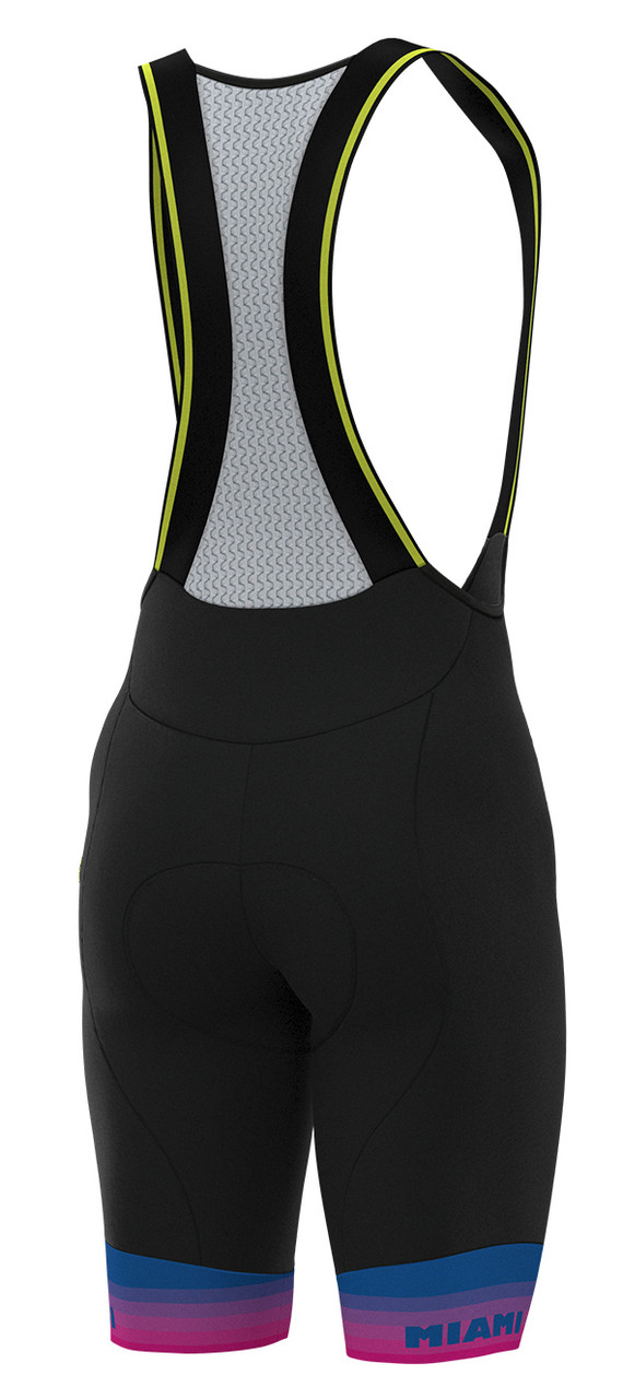 ALE' Miami Edition Bib Shorts Rear