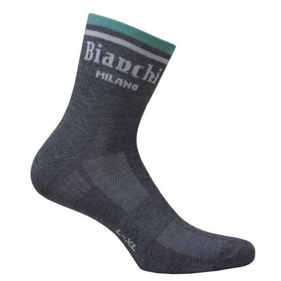 Bianchi Milano Riva Black Socks