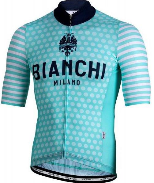 Bianchi Milano Davoli Green White Jersey