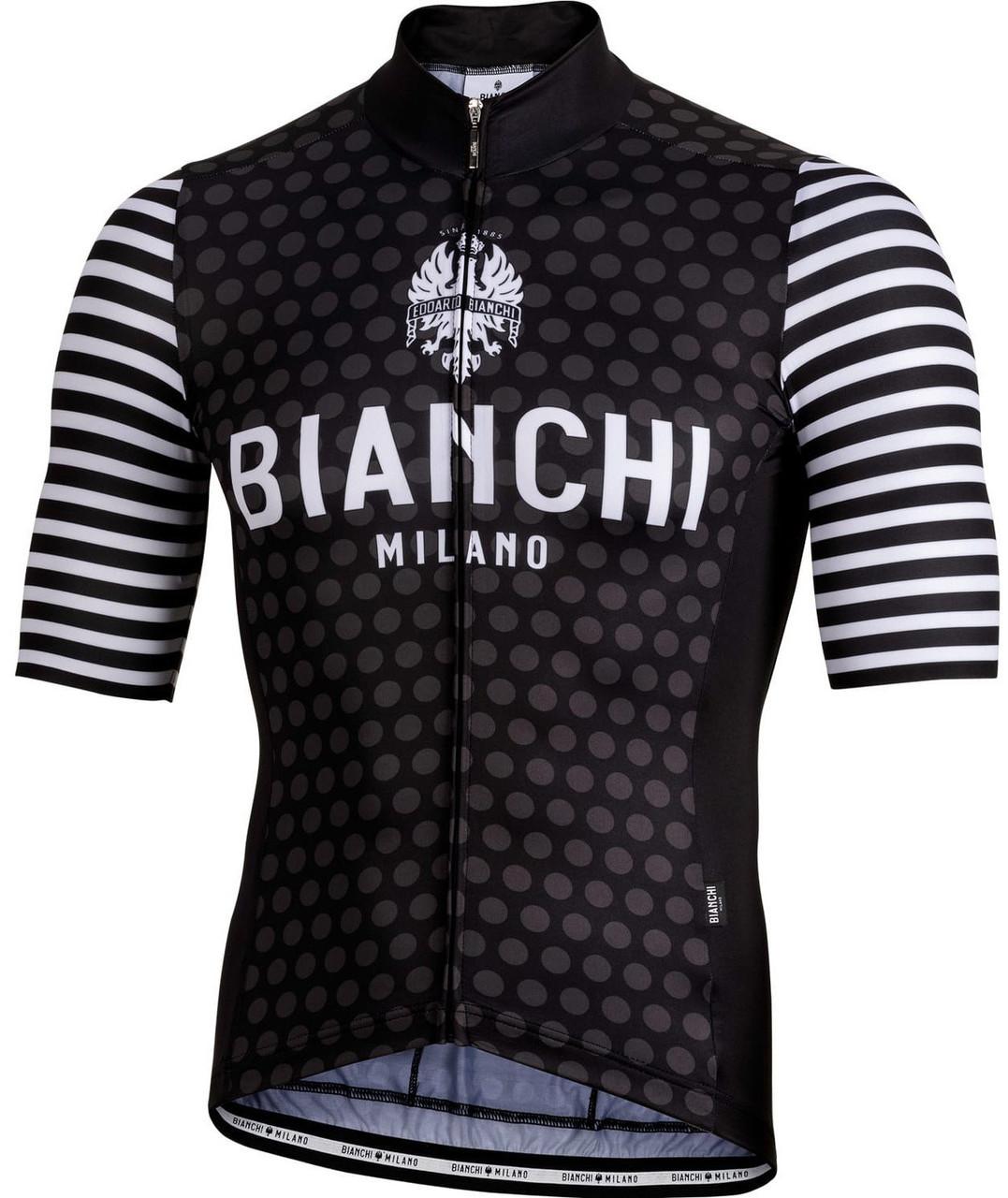 c5e9c04fa21 Bianchi Milano Davoli Black White Jersey