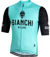 Bianchi Milano Pedaso Green Black Jersey