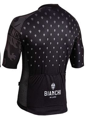 Bianchi Milano Savignano Black Jersey Rear
