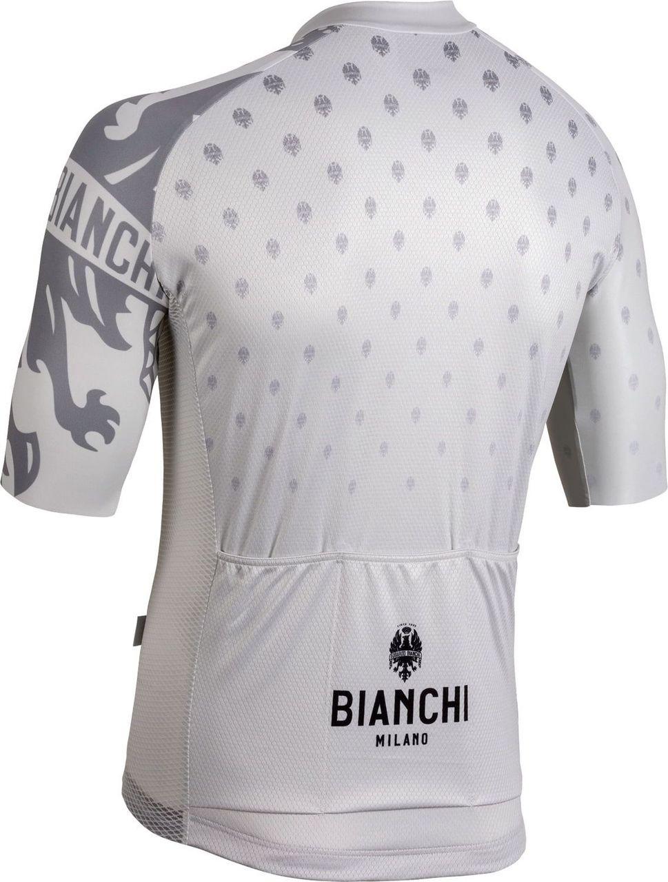 Bianchi Milano Savignano White Jersey Rear