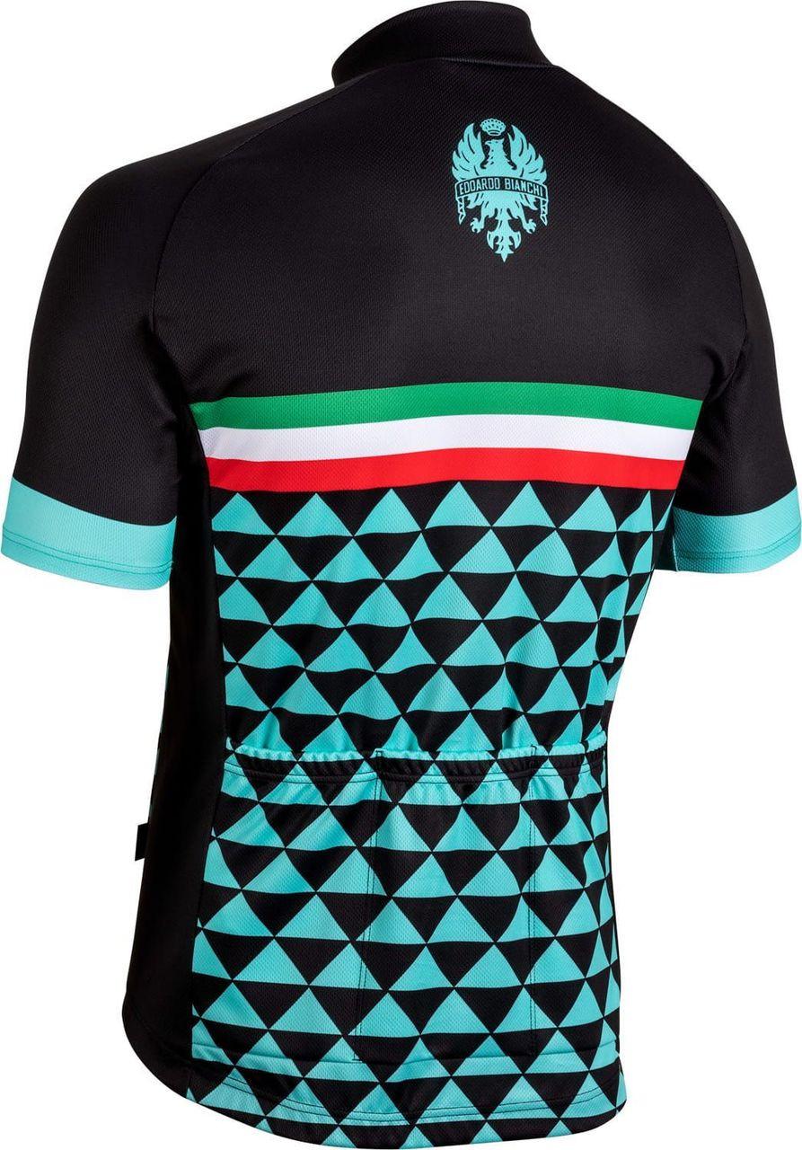 Bianchi Milano Codigoro Black Jersey Rear