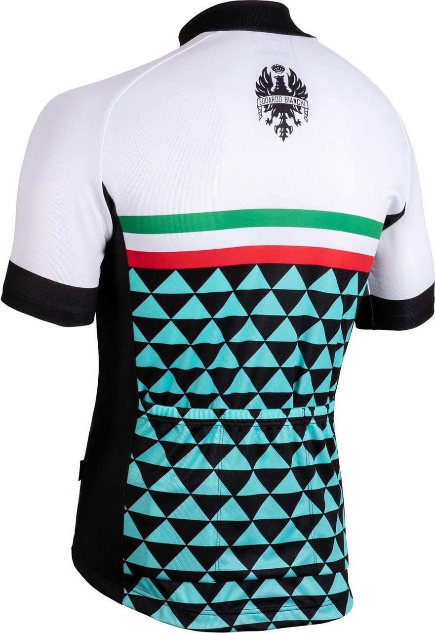 Bianchi Milano Codigoro White Jersey Rear