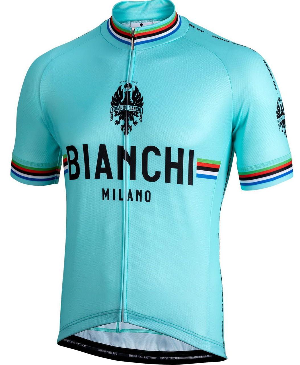 Bianchi Milano New Pride Green Jersey