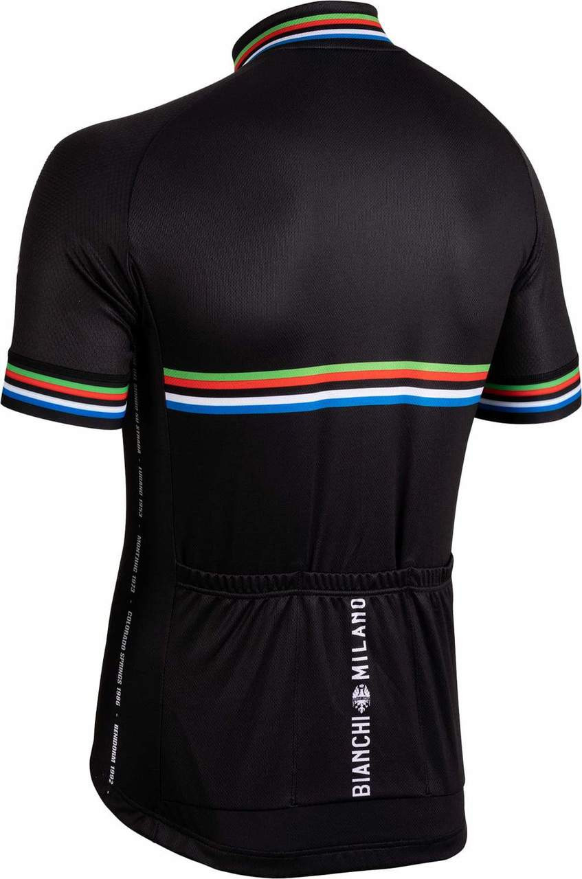 Bianchi Milano New Pride Black Jersey Rear
