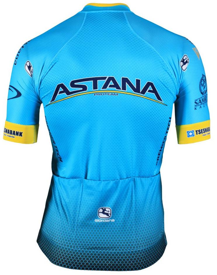2019 Astana FRC Pro Jersey Rear