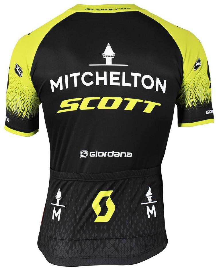2019 Mitchelton Scott Vero Pro Jersey Rear