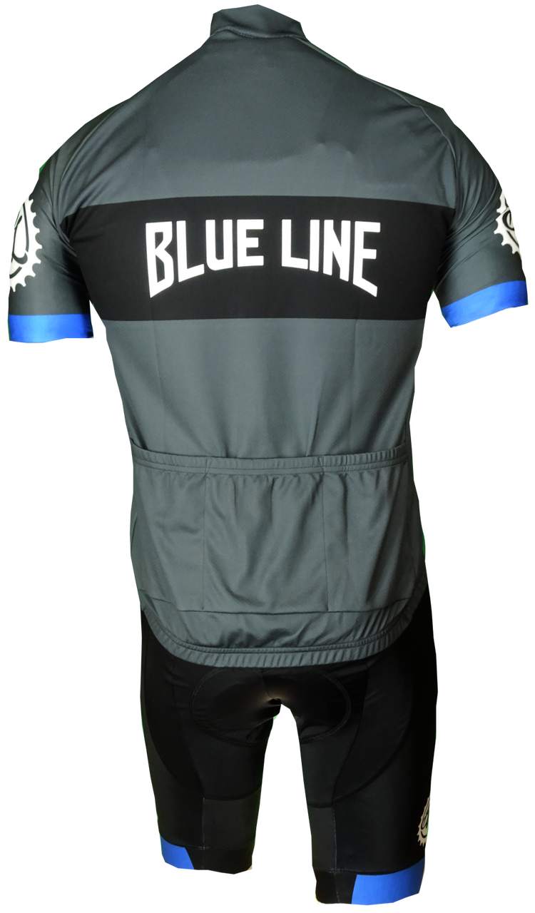 2019 Blueline Pursuit Retro Jersey Rear