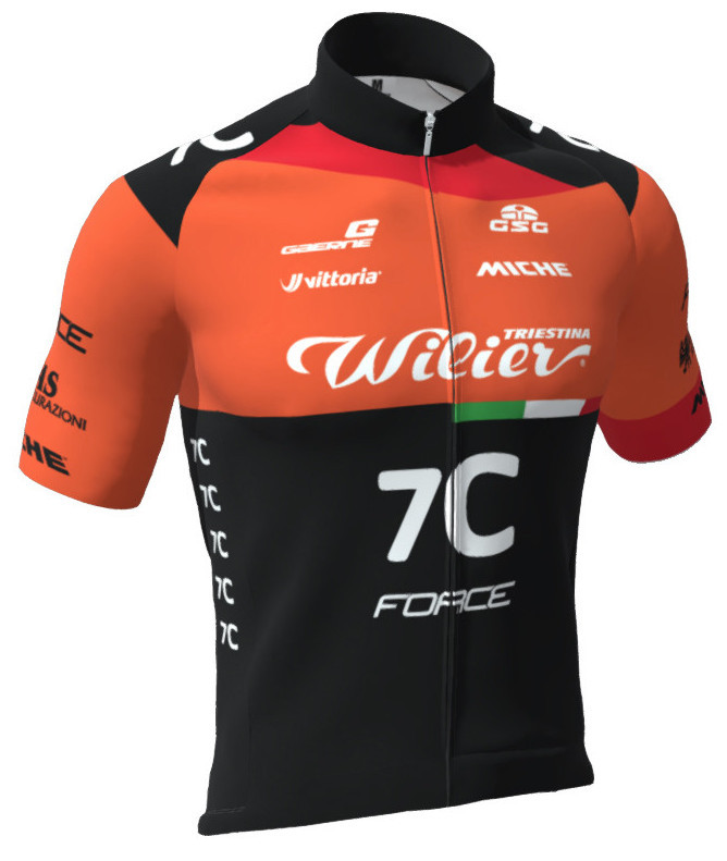 2019 Wilier 7C Force FZ Jersey