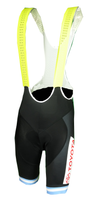Vuelta San Juan Toyota Yellow Sprint Bib Shorts