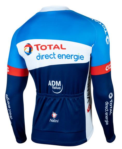 Direct Energie Long Sleeve Jersey Rear