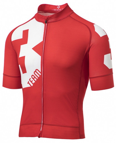 3T Team Red Race Full Zip Jersey