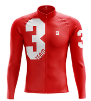3T Team Red Race Long Sleeve Jersey