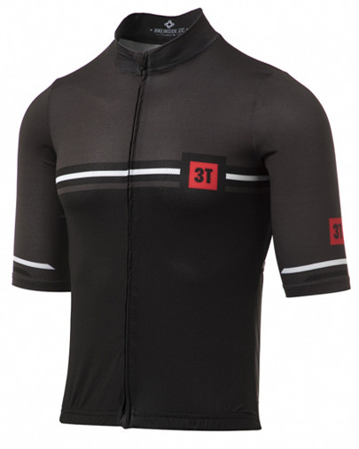 3T Team Charcoal Retro Full Zip Jersey