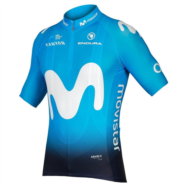 2019 Movistar Team Full Zip Jersey