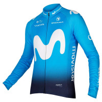 2019 Movistar Team Long Sleeve Jersey