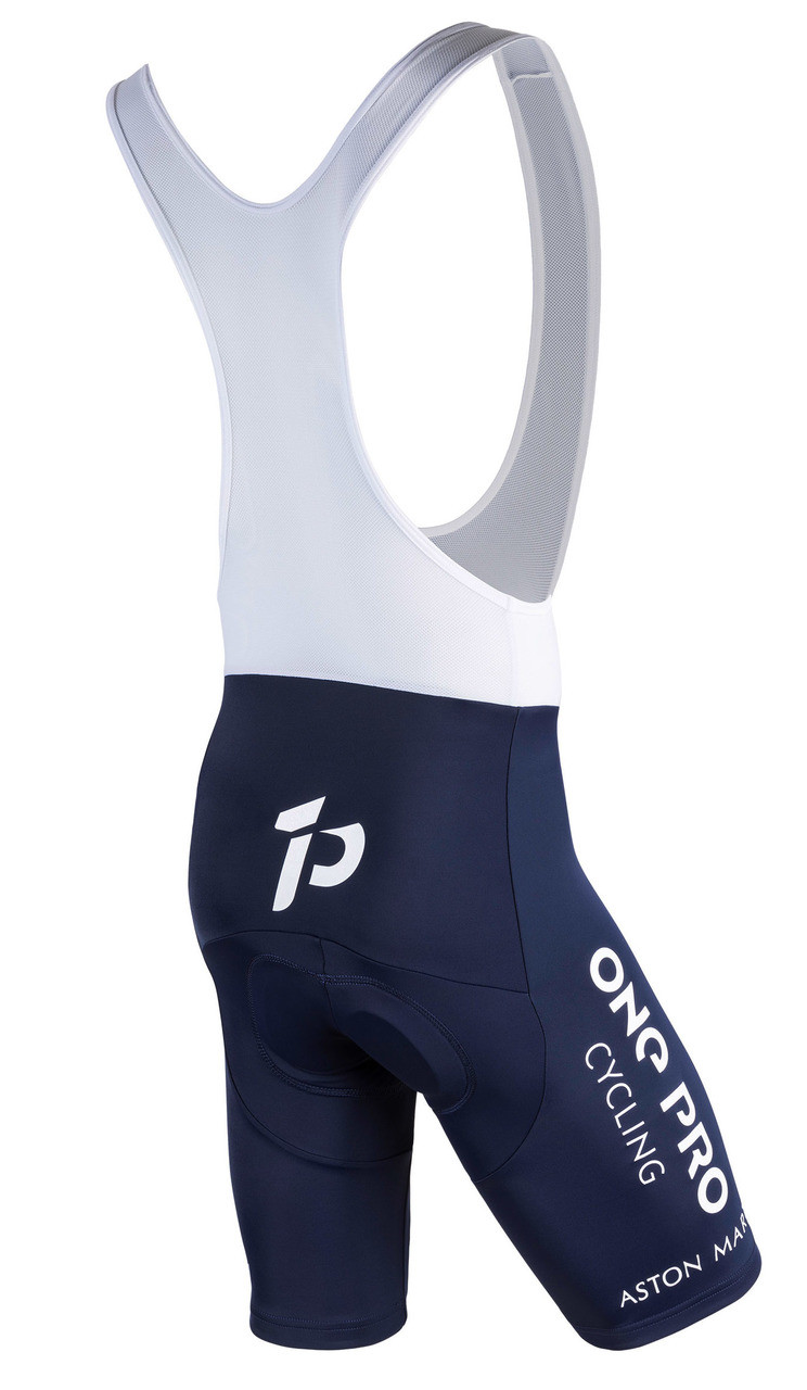 2018 One Pro Aston Martin Bib Shorts Rear
