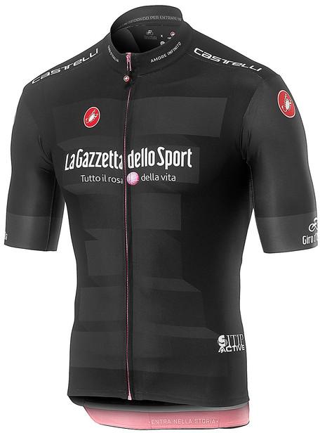 2019 Giro Black Full Zip Jersey