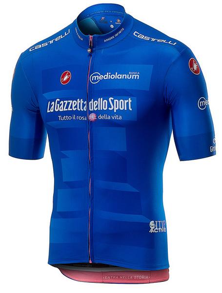2019 Giro Blue King of Mountains Full Zip Jersey