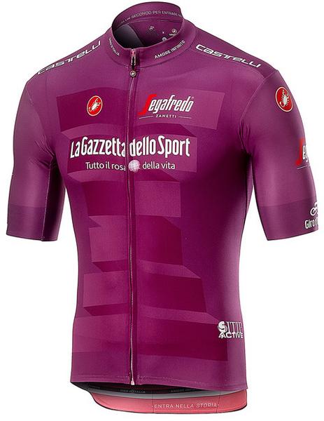 2019 Giro Purple Sprint Points Full Zip Jersey