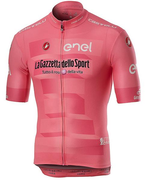 2019 Giro Pink Leaders Full Zip Jersey