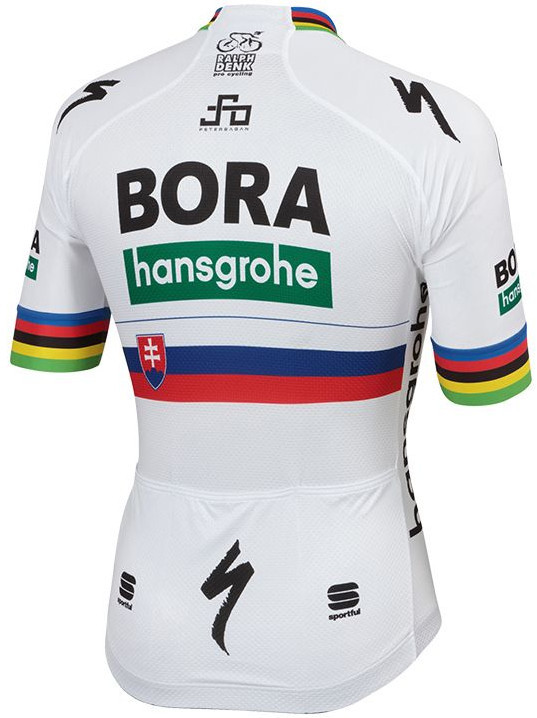 2019 Bora Hansgrohe Sagan Slovak & World Champ Jersey Rear