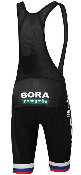 2019 Bora Hansgrohe Sagan Slovak World Champ Bib Shorts Rear