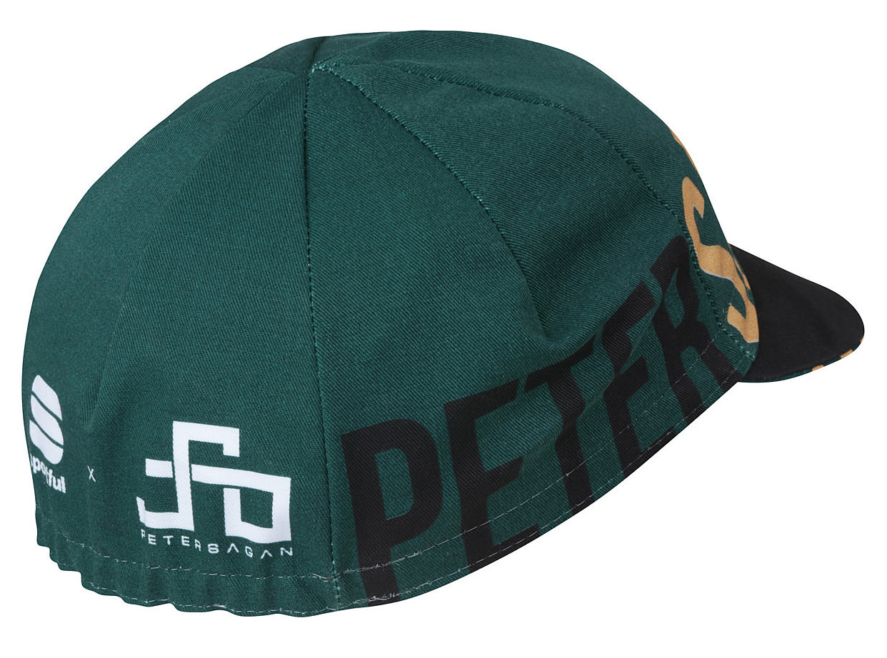 Sagan One Green Gold Cap Rear