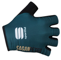 Sagan Gold Green Gloves