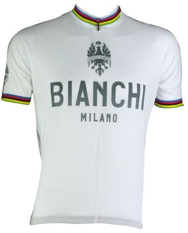 Bianchi White Pride Rainbow Jersey