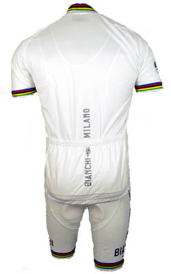 Bianchi Rainbow Jersey  Rear View