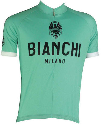 Bianchi Milano Classic Green Celeste Jersey