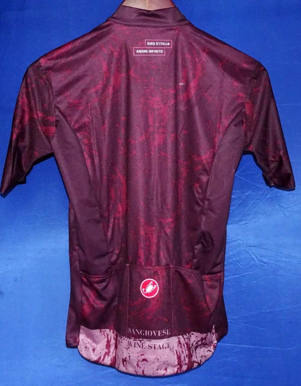 Sangiovese Giro Stage Series Jersey Rear