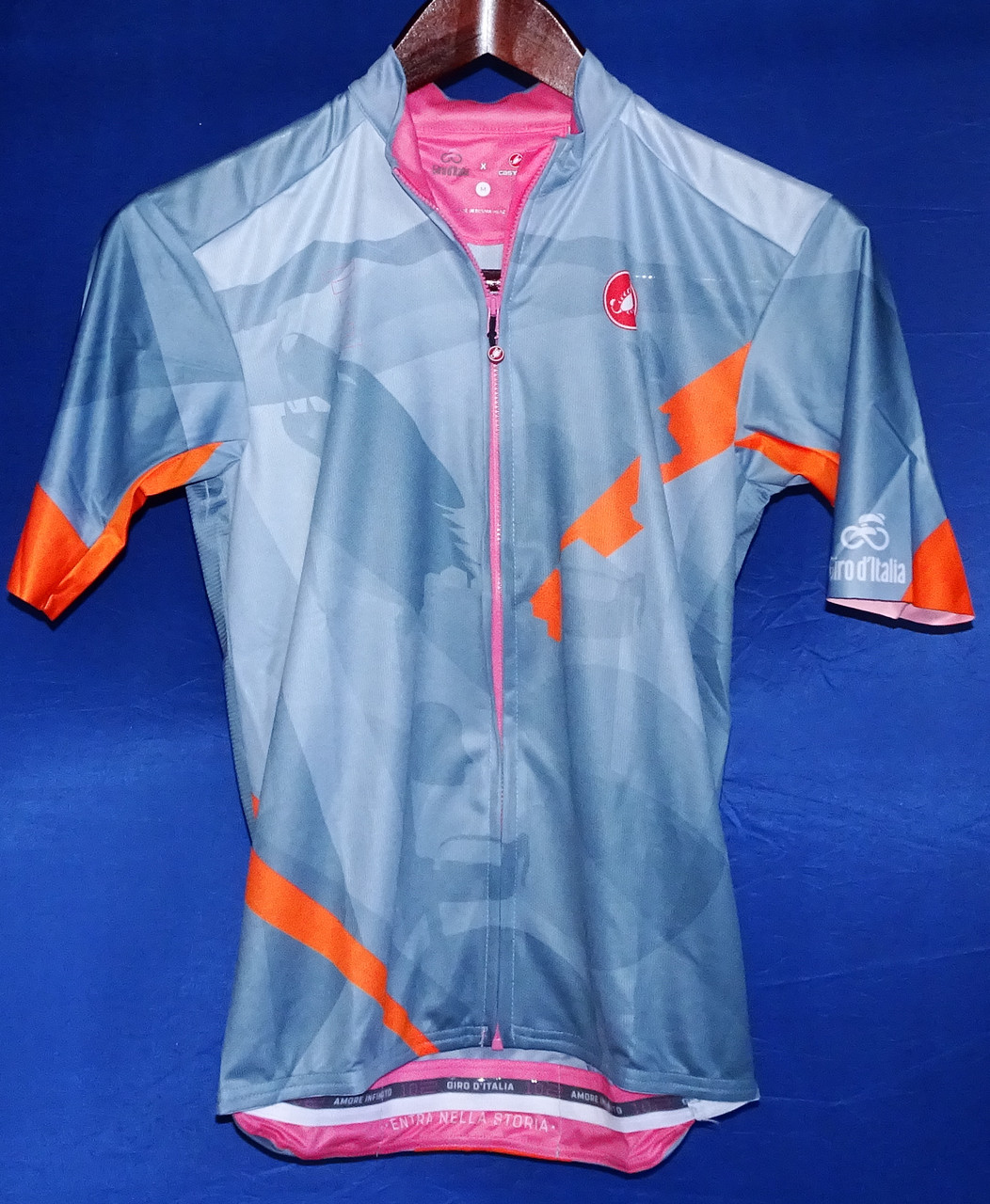 Feltre Croce D Aune Giro Stage Series Jersey Front