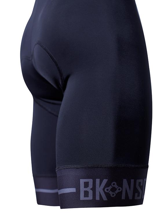 BK-NSD Endurance Seamless Black Bib Shorts