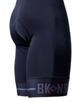 BK-NSD Endurance Seamless Black Bib Shorts