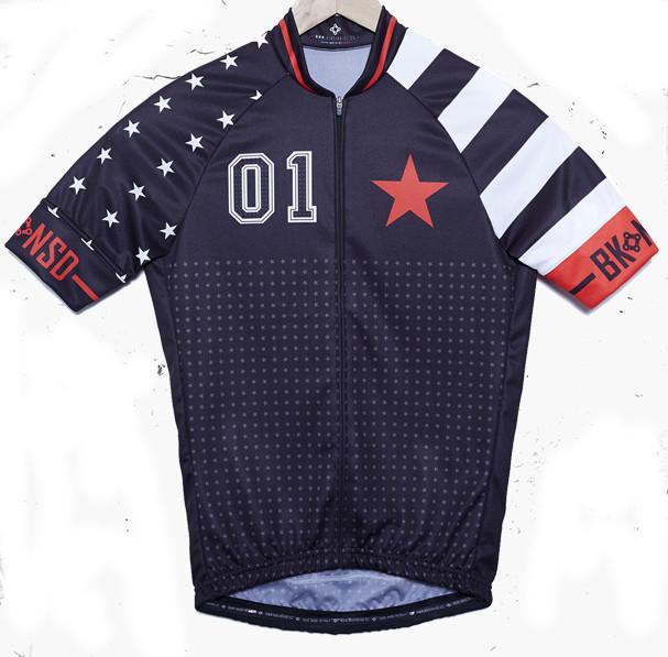 BK-NSD Stars And Stripes Black Jersey Front