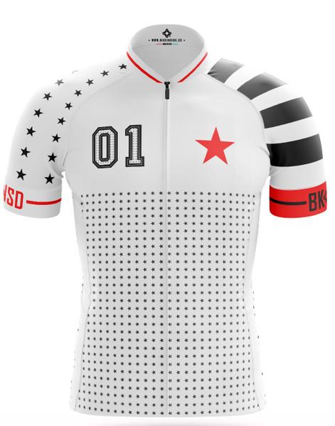 BK-NSD Stars And Stripes White Jersey