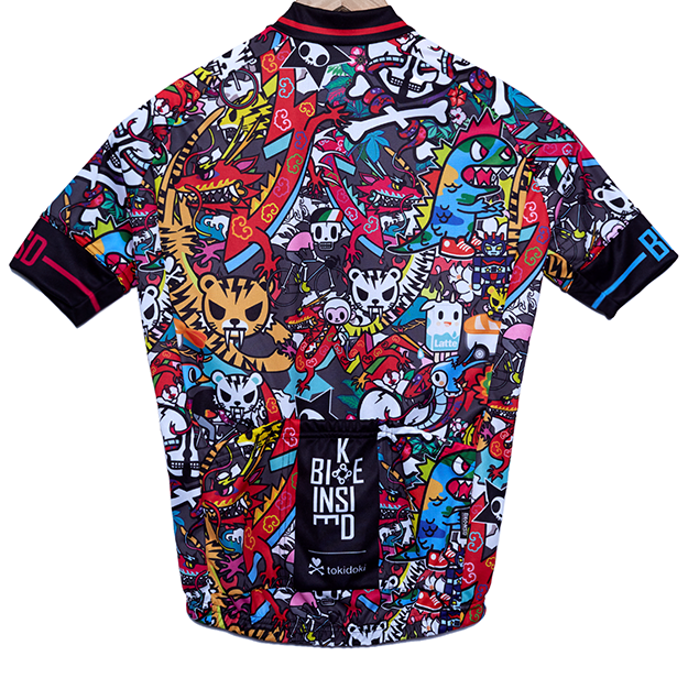BK-NSD Tokidoki Limited Edition Tiger Jersey Rear