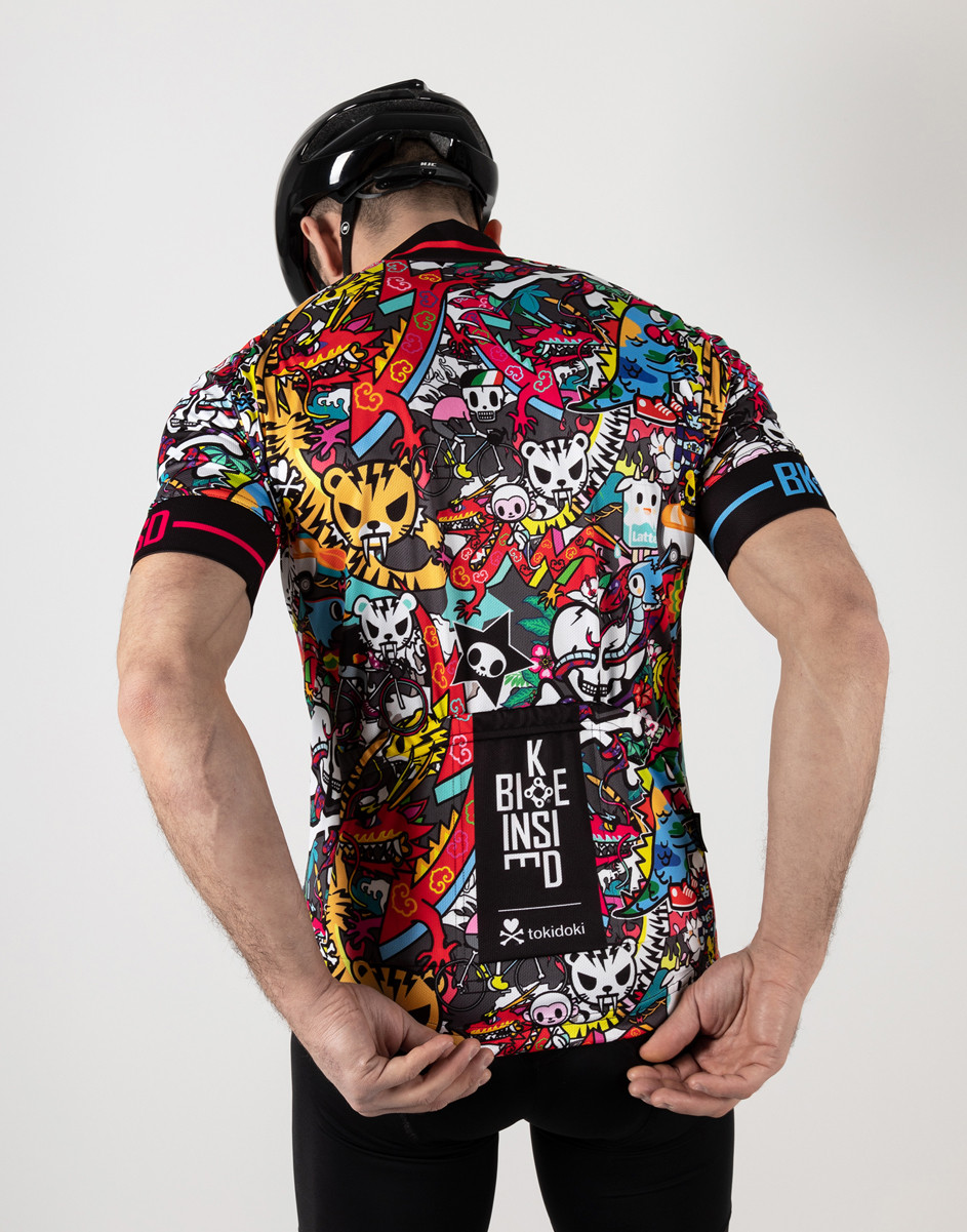 BK-NSD Tokidoki Limited Edition Tiger Jersey Rider Rear