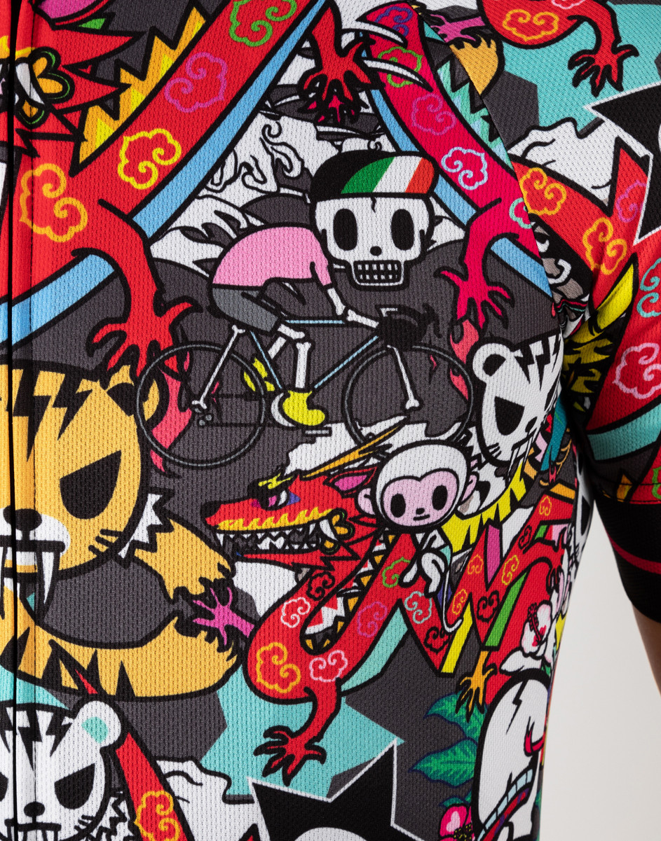 BK-NSD Tokidoki Limited Edition Tiger Jersey Close Up
