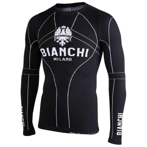 Bianchi Milano Verano Black Long Sleeve Baselayer